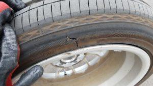 出張タイヤパンク修理・クランのタイヤ