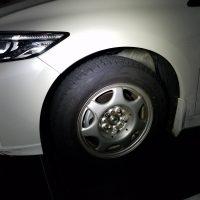 タイヤ交換後のCR-Z