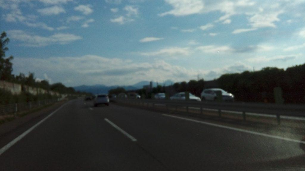 上信越道、上りの大渋滞