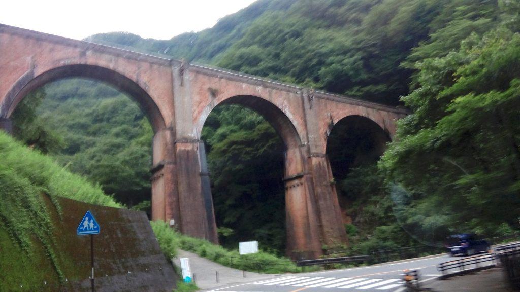 軽井沢のめがね橋