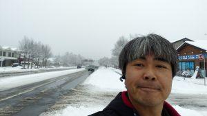 軽井沢で出張タイヤチェーン取り付け