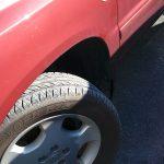 トヨタクルーガーの出張パンク修理