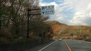 軽井沢町でスペアタイヤ交換