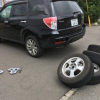 出張タイヤ交換