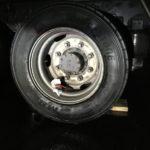 トラックタイヤパンク修理